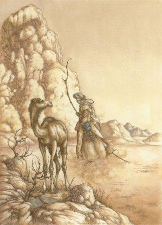 How the Camel Got His Hump. Illustrated by Niroot Puttapipat & published by the Folio Society.